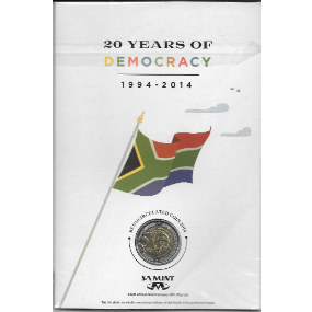 20 Years of Democracy SA Mint Coin Combo