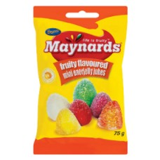 Maynards Enerjelly Jubes 75g
