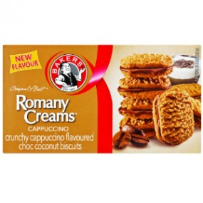 Bakers Cappuccino Romany Creams 200g