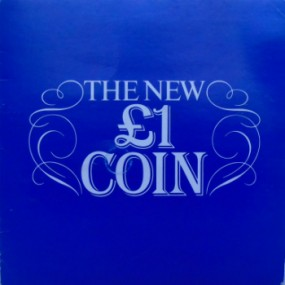 1983 1st Day of Issue £1 Coin