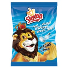 Simba Salt & Vinegar 125g