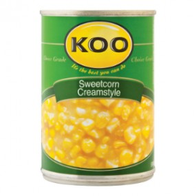 Koo Cream Style Sweetcorn 420g