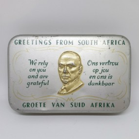 WWII South African Gift Tin 1940